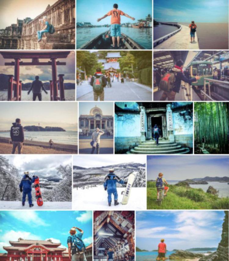 """Những bức ảnh truyền cảm hứng du lịch của Hữu Quyên khiến người xem muốn """"nhúc nhích"""""""