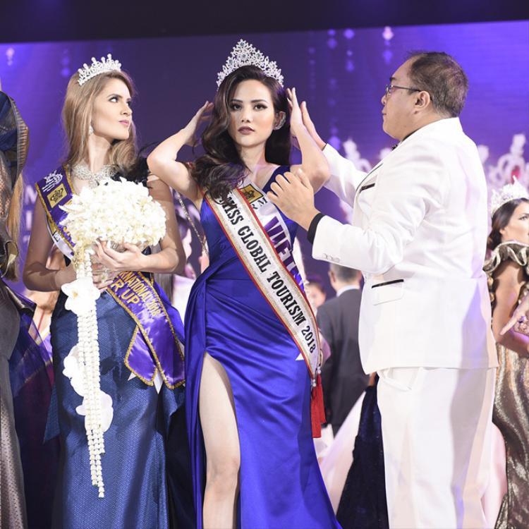 Giải thưởng Hoa hậu Du lịch Toàn cầu phát sinh thêm của Diệu Linh gần như tương đương với danh hiệu cao nhất tại cuộc thi này.