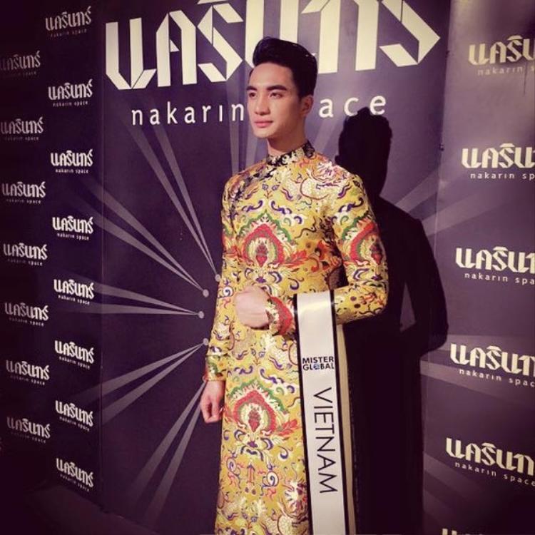 Trước Thuận Nguyễn, đã có một mỹ nam gốc Việt giành chiến thắng tại cuộc thi Mister Global trên đất Thái Lan.