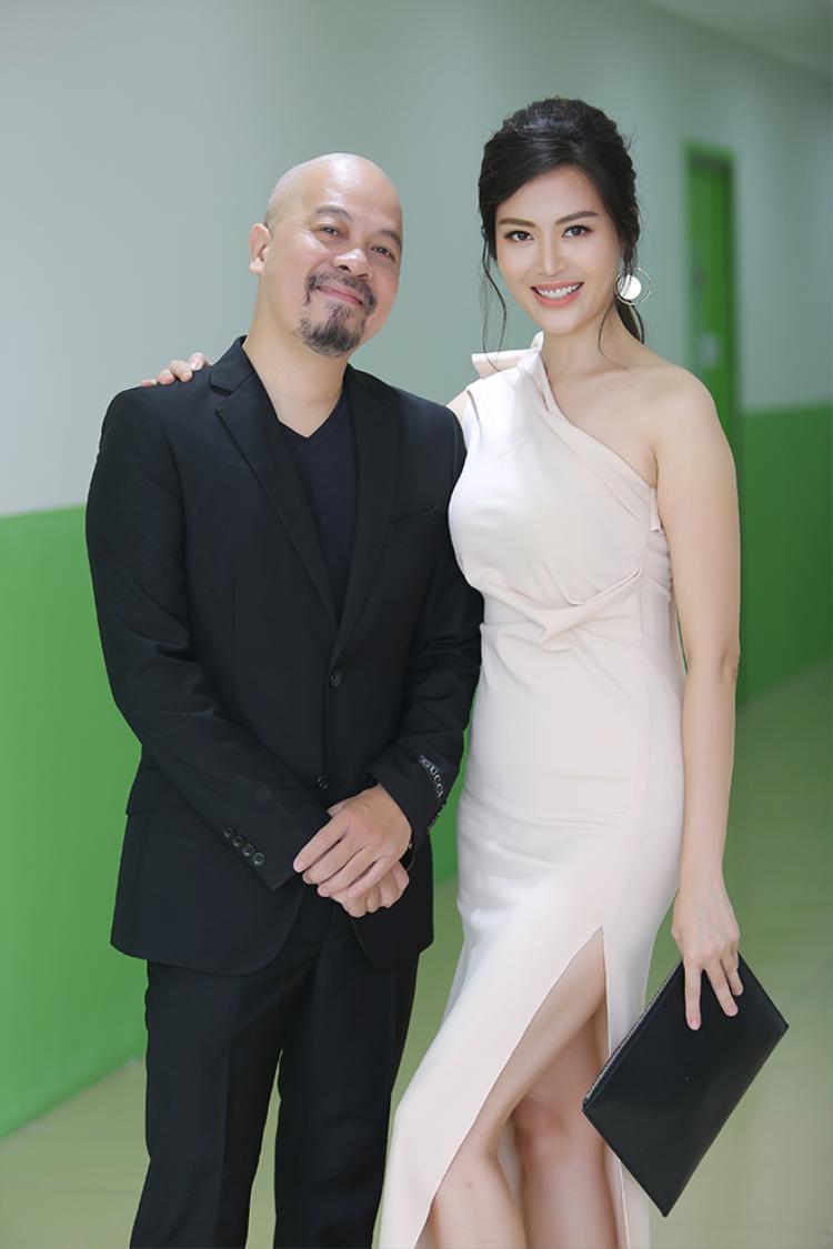 Hoa hậu Thu Thủy và NTK Đức Hùng