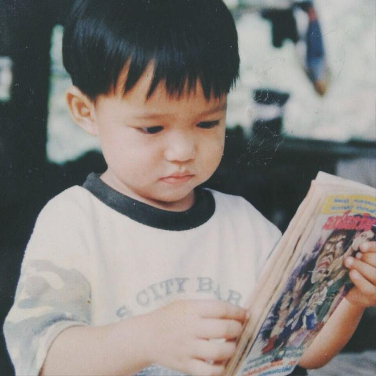Yoshi lúc còn là một cậu bé…