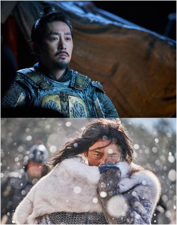 Tạo hình tiền kiếp của hai vệ thần Kang Rim (Ha Jung Woo) và Haewonmak (Joo Ji Hoon).