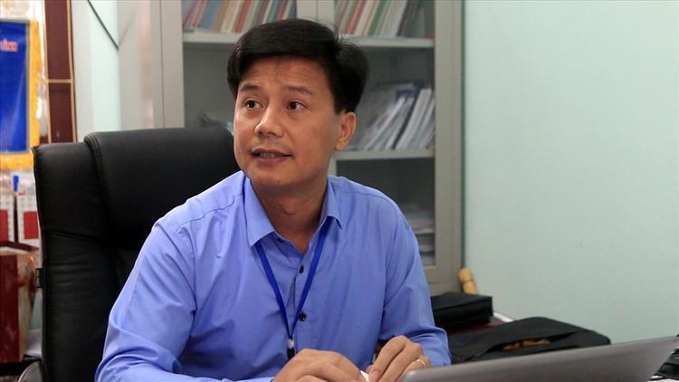 Ông Trần Văn Trọng - Chánh Văn phòng Sở GDĐT tỉnh Sơn La. Ảnh: báo Lao Động