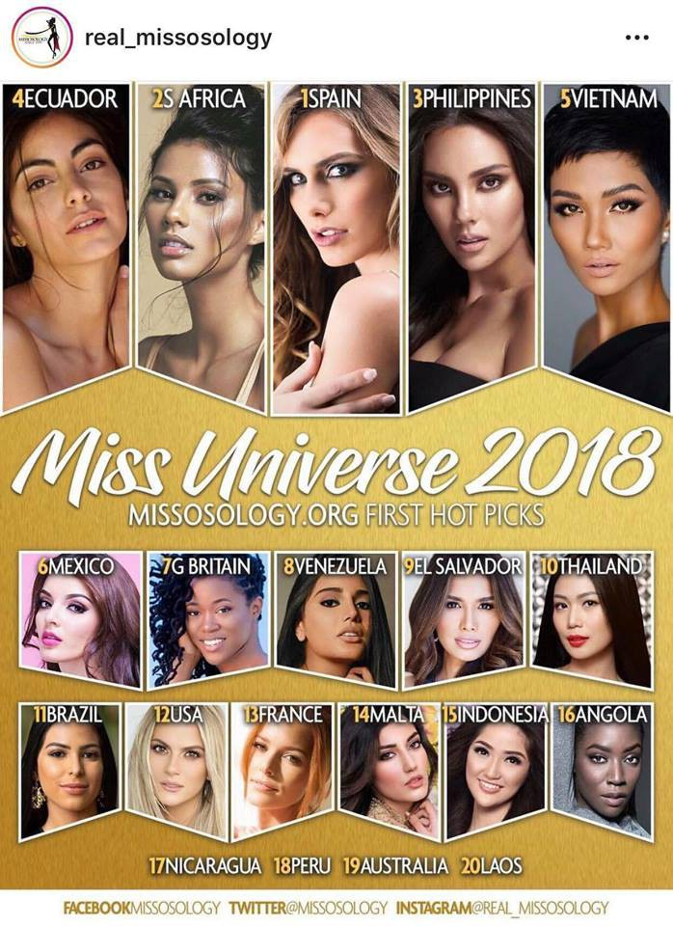 Mỹ nhân chuyển giới vượt mặt HHen Niê trong Top ứng viên sáng giá tại Miss Universe 2018
