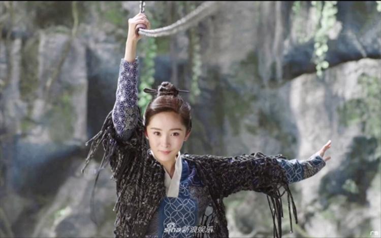 Phù Dao ngây thơ khi còn ở núi Huyền Nguyên.