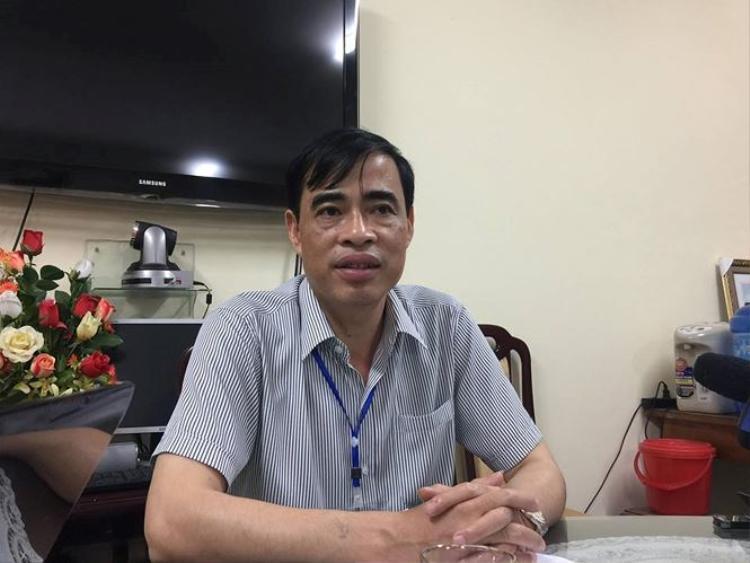 Phó giám đốc Sở GD&ĐT Hòa Bình Nguyễn Đức Lương thừa nhận có bất thường trong chấm thi trắc nghiệm THPT Quốc gia 2018. Ảnh: Tiền Phong.