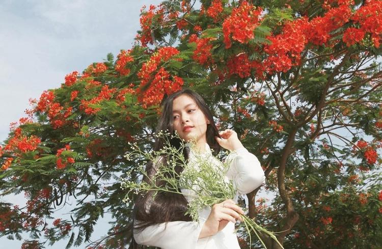 Nữ sinh Hải Phòng có nét đẹp đậm chất phụ nữ Á Đông rất duyên dáng