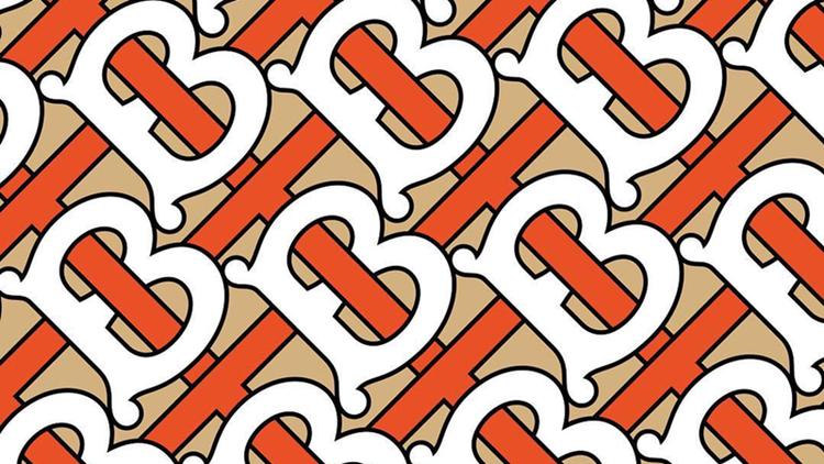 Mẫu logo mới của Burberry đã được hé lộ cùng họa tiết monogram với màu sắc bắt mắt thay thế cho những kẻ sọc kinh điển