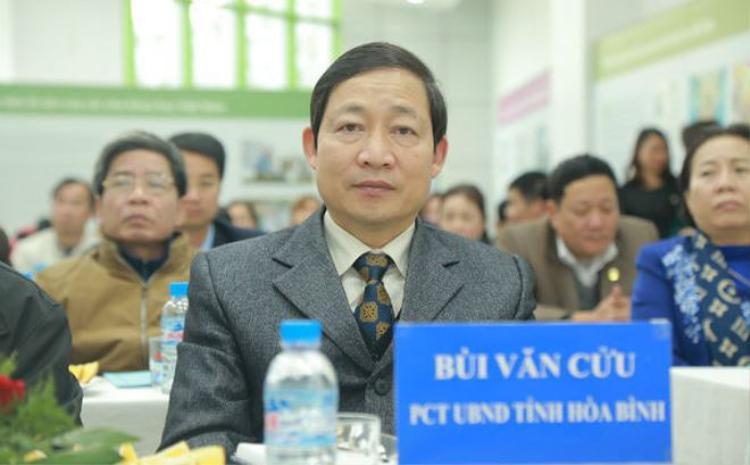 Ông Bùi Văn Cửu. Ảnh: Hoabinh.gov.vn.