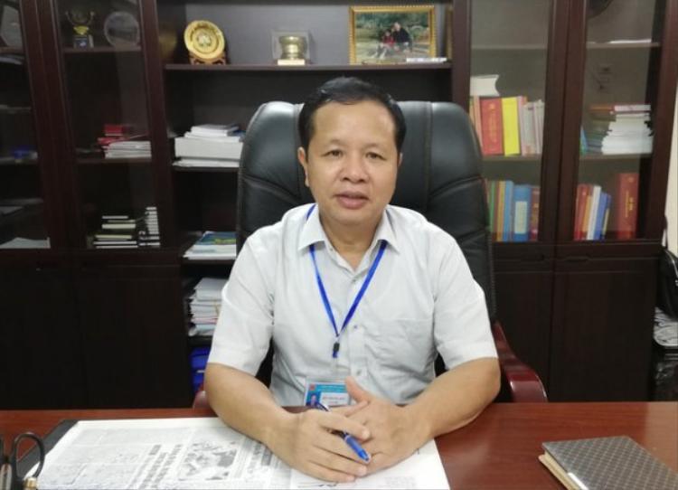 Ông Bùi Trọng Đắc - Giám đốc Sở GD-ĐT tỉnh Hòa Bình. Ảnh: Dân trí.
