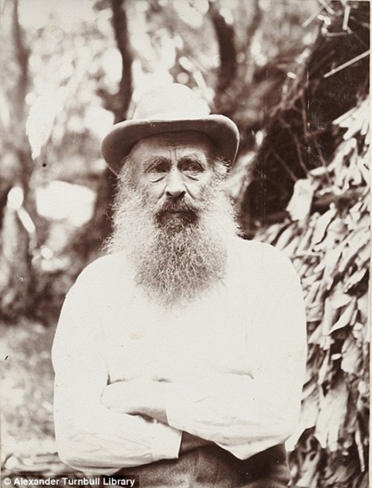 Ông Thomas Bell vào năm 1908. Ảnh: Dailymail.