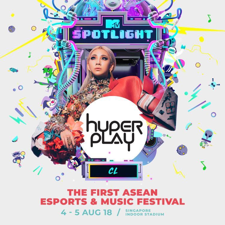 Hyperplay là chuỗi sự kiện diễn ra trong 2 ngày 4 và 5/8 tại Singapore với hoạt động chính là đêm concert với sự xuất hiện đặc biệt trong vị trí spotlight của cựu thành viên 2NE1.