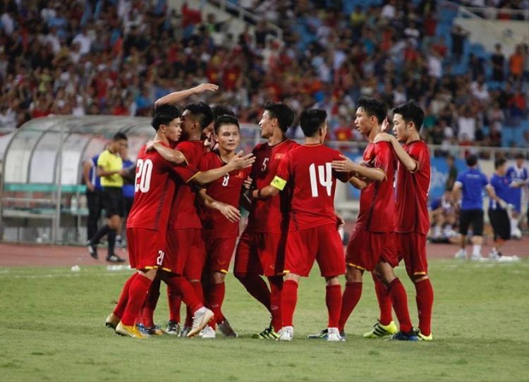 Công Phượng trở thành người hùng của U23 Việt Nam trong trận đấu gặp U23 Palestine.