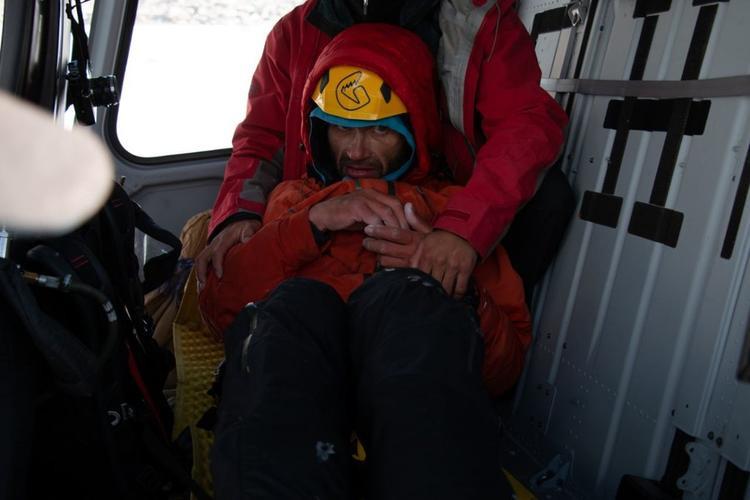 Ông Gukov được giải cứu sau 6 ngày mắc kẹt.