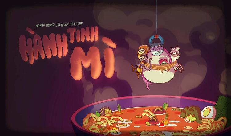 """Hình ảnh preview của tập phim """"Hành tinh Mì""""."""