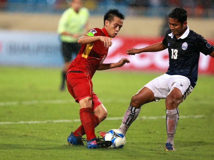 Văn Quyết sẽ là đầu tàu của U23 Việt Nam tại ASIAD 18. Ảnh: H.Đ