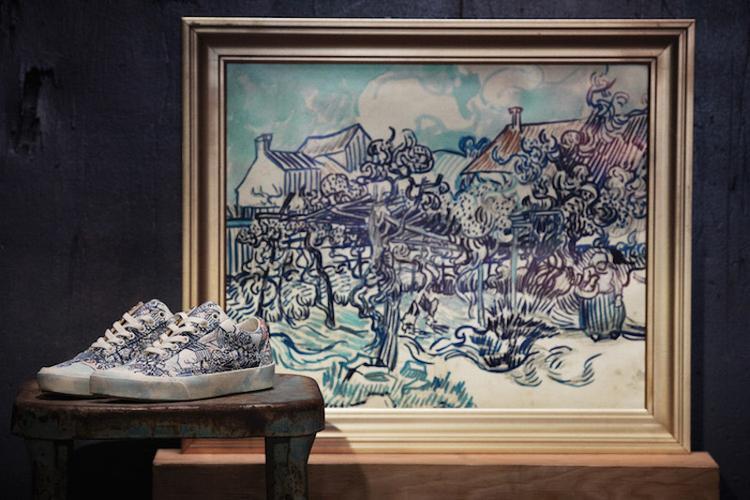 Tác phẩm Old Vineyard with Peasant Woman (1890) của Van Gogh.