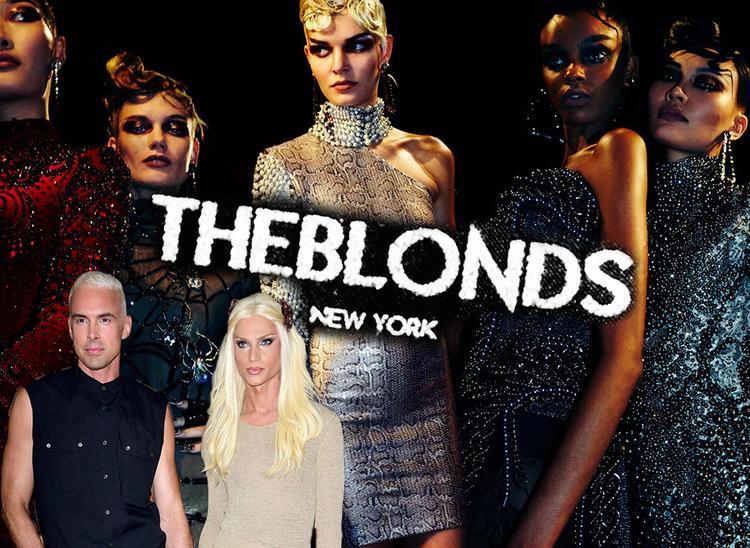 Thương hiệu The Blonds được thành lập vào năm 2007, đồng sáng lập bởi nhà thiết kế Phillipe Blond và Giám đốc sáng tạo David Blond.