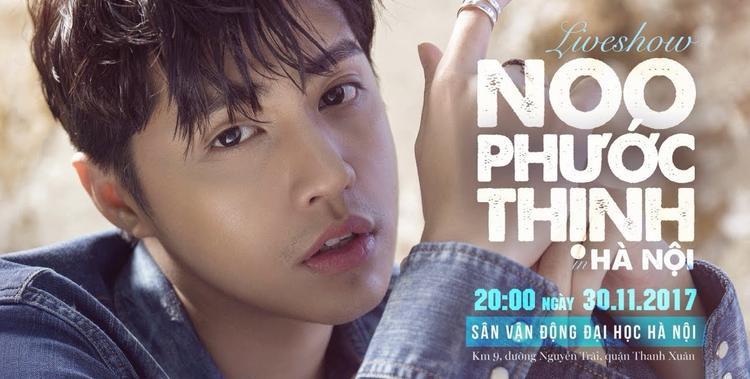 Poster quảng bá cho concert của Noo vào cuối năm 2017.