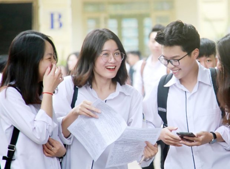 Thí sinh tham dự kỳ thi THPT quốc gia 2018.