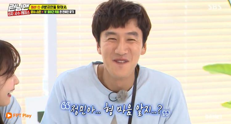 Kwang Soo ngại ngùng trước lỗi lầm mình từng gây ra với Jung Min.
