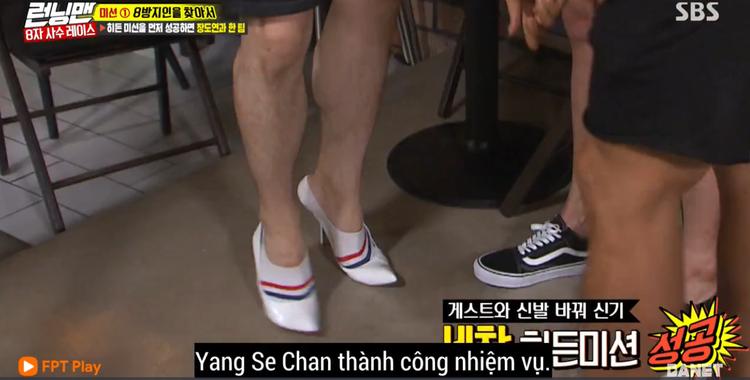Se Chan thành công đổi giày cùng Do Yeon.