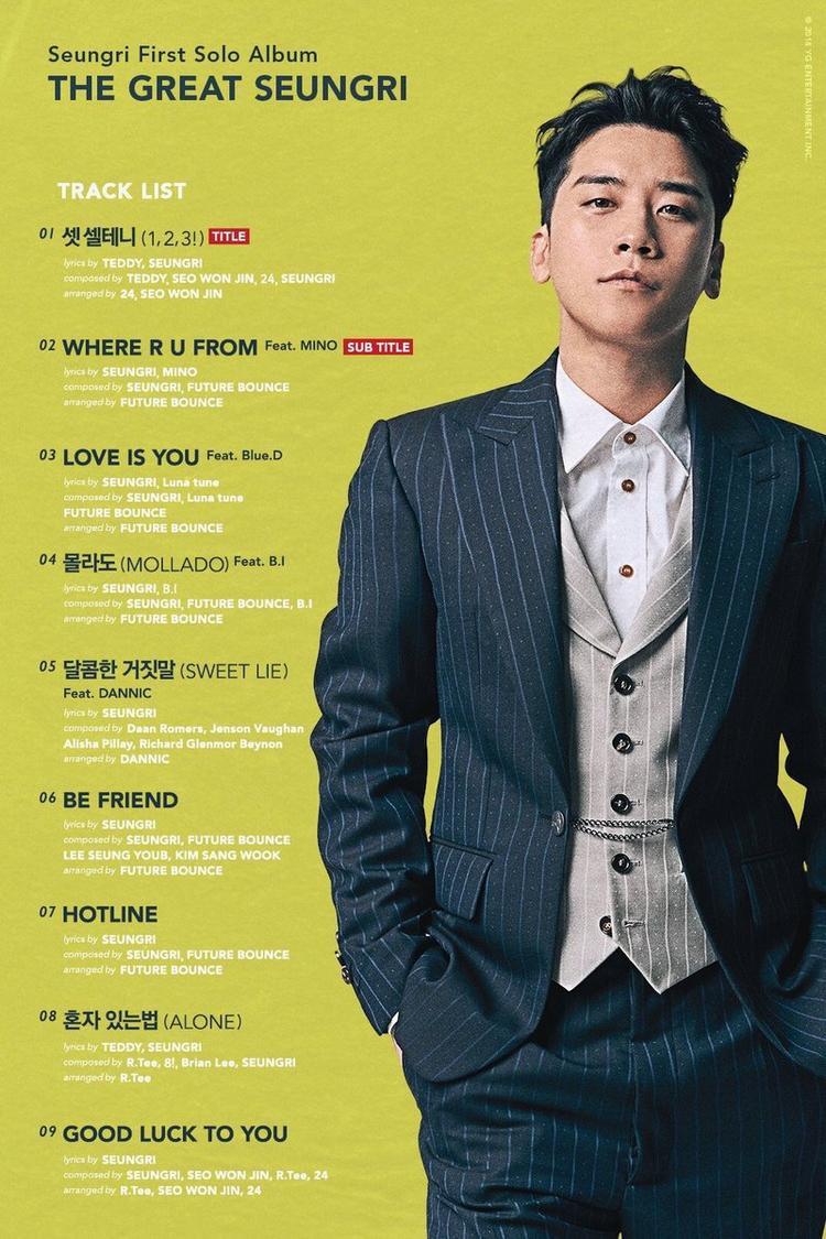 Album solo đầu tay của Seungri.