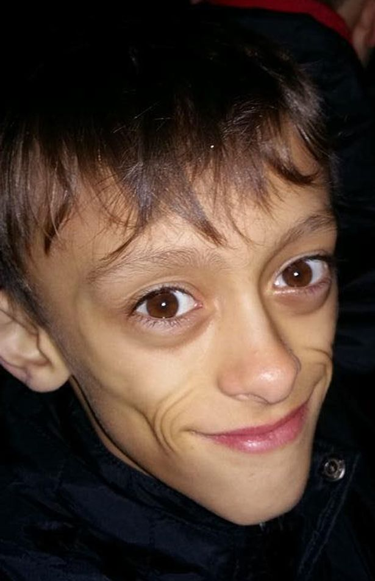 Shaun 9 tuổi. Ảnh: Platform Press