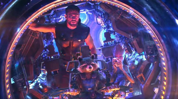 Thor, Rocket và Groot tham gia chuyến phiêu lưu riêng.