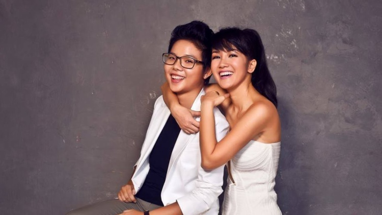 Hồng Nhung - Vũ Cát Tường có mối quan hệ khăng khít sauThe Voice - Giọng hát Việt 2013.