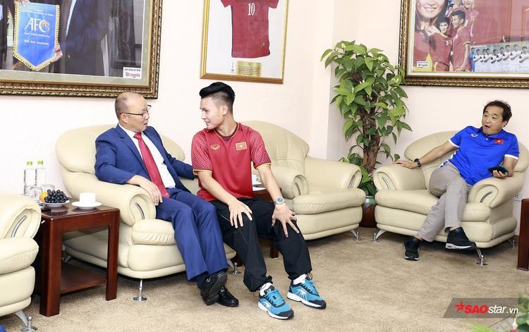 Nghệ thuật đắc nhân tâm của ông Park giúp cho U23 Việt Nam phát huy sức mạnh tinh thần.