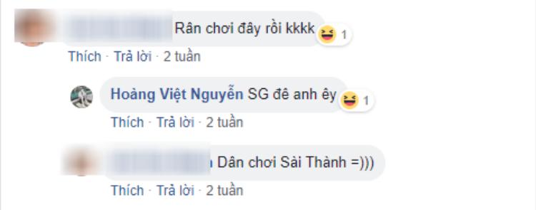 Việt Hoàng đã ở Sài Gòn ít nhất 2 tuần nay.