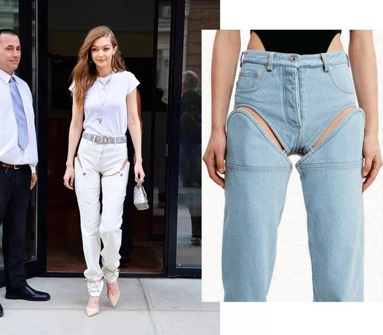Quần jeans combo cả quần sooc và quần dài quả là sáng tạo bá đạo.