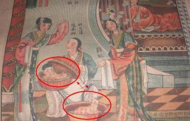 Cuộc đời của Lưu Hoàng hậu gắn liền với truyền thuyết Ly miêu hoán thái tử. Ảnh: Baidu