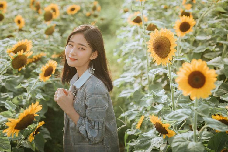 Vẻ đẹp tự nhiên rạng rỡ như hoa hướng dương