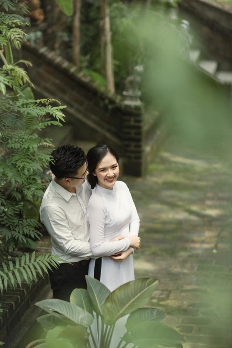 Ảnh cưới giản dị, ấm cúng của Hà Anh