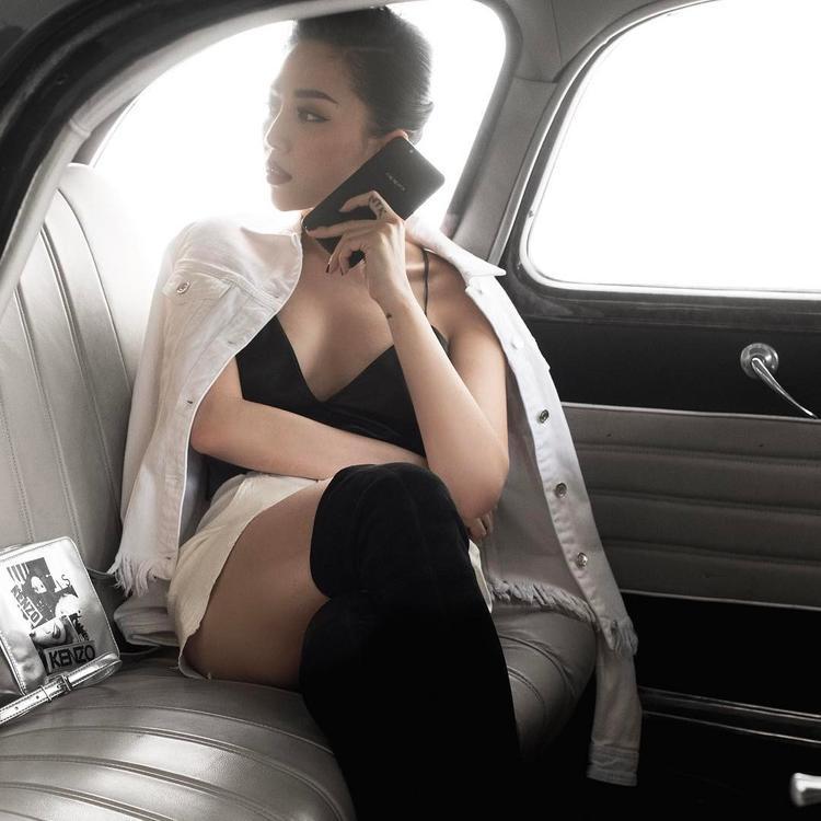 Tóc Tiên có phong cách thời trang cá tính, riêng biệt và ổn định.