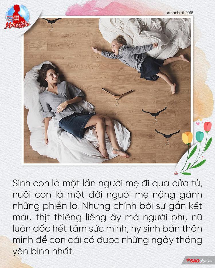Tâm thư của người mẹ gửi đến con: Nhờ thượng đế đưa con đến với mẹ, mẹ đã sống cuộc đời ý nghĩa hơn