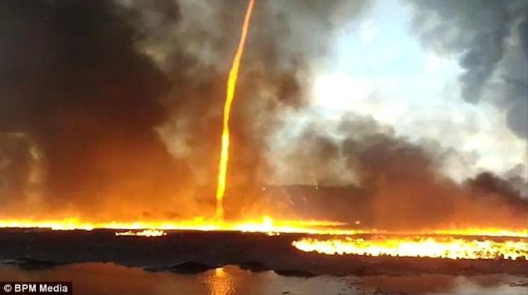 10 chiếc xe cùng hơn 50 lính cứu hỏa được huy động khẩn cấp để khống chế đám cháy.