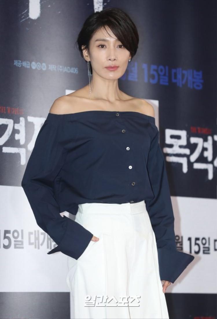 """Diễn viên của bộ phim truyền hình ăn khách """"Sự quyến rũ của người vợ"""" - Kim Seo Hyeong."""