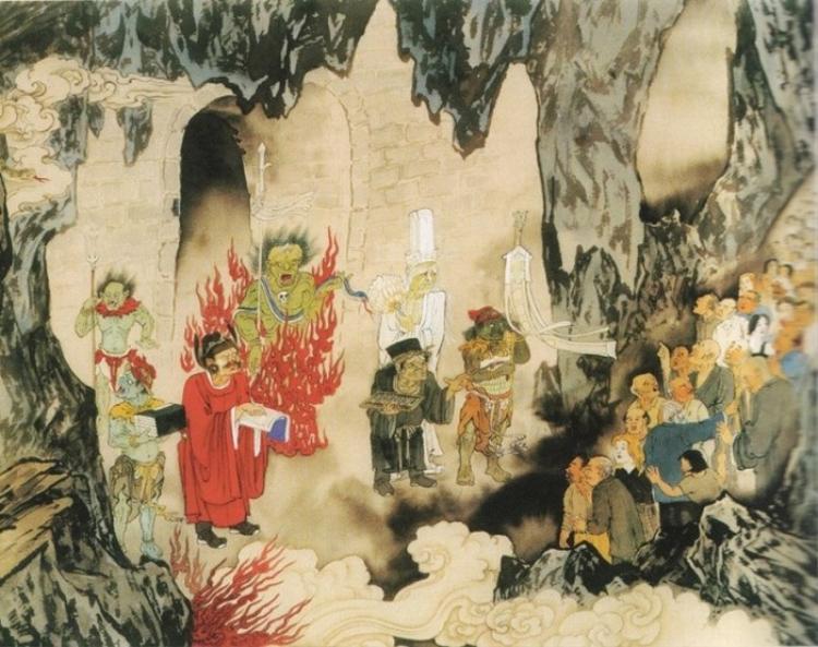 Truyền thuyết dân gian cho rằng từ mùng 2/7, Diêm Vương ra lệnh bắt đầu mở Quỷ Môn Quan.