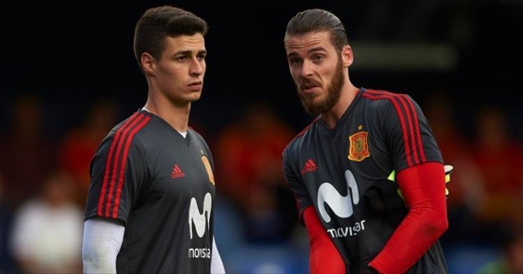 Kepa là thủ môn số 2 ĐT Tây Ban Nha sau David De Gea. Ảnh: Football365.
