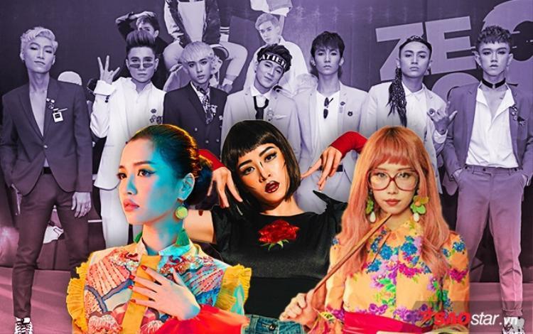 """Khi được hỏi liệu làm như vậy có sợ bị """"ném đá"""", Tăng Nhật Tuệ cho biết: """"Chúng tôi yêu thích và dành tình cảm cho những nhân vật đó thì cosplay lại thôi và cũng chưa nói với các nữ ca sĩ biết để khi ra mắt MV, họ sẽ bất ngờ""""."""
