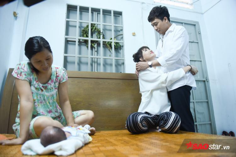 Vượt cạn thành công: Nhìn em bé Hari Won bị ghiền, Trấn Thành tự tin đã sẵn sàng làm cha