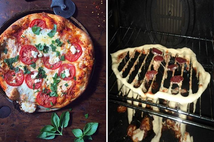 Món pizza ngon tuyệt cú mèo trong truyền thuyết của anh người yêu thiết đãi bạn gái.