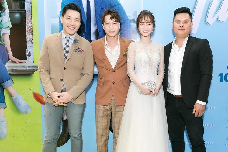 Ekip thực hiện bộ phim: NSX Minh Beta, S.T Sơn Thạch, Jang Mi và đạo diễn Tín Lương.