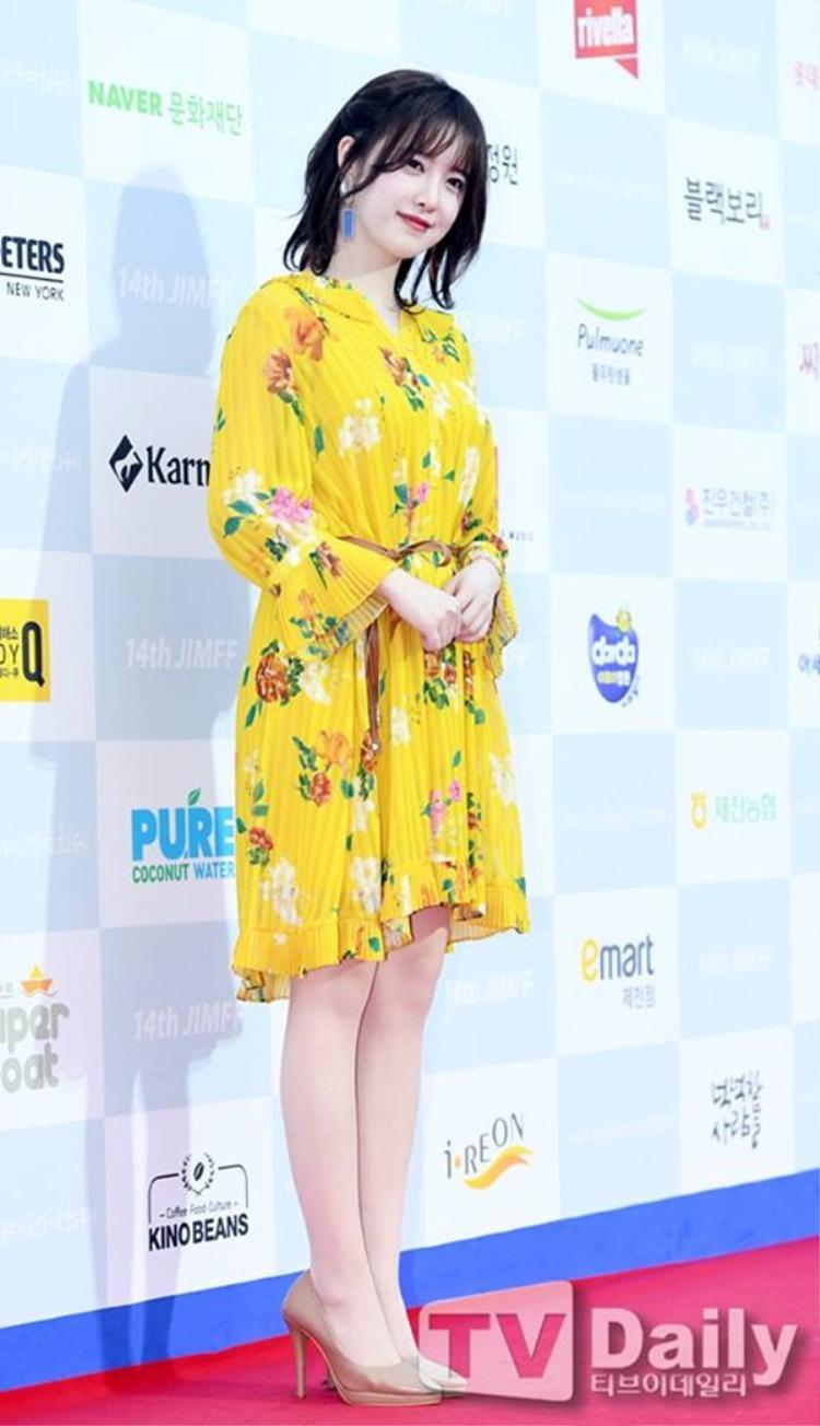 Nét dịu dàng pha lẫn trẻ trung bao năm không đổi của Goo Hye Sun.