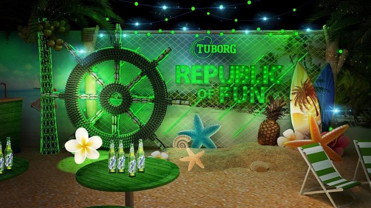 """Mở màn làn sóng """"vui đúng điệu"""" của Tuborg Republic of Fun với sự kiện vào ngày 11/8 tại Hà Nội!"""