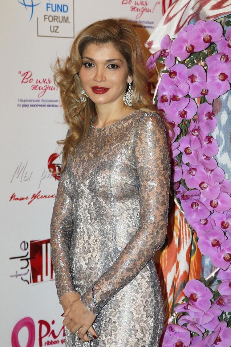 Một trong số những tiểu thư nhà giàu từ Trung Á khác là tỷ phú Gulnara Karimova.