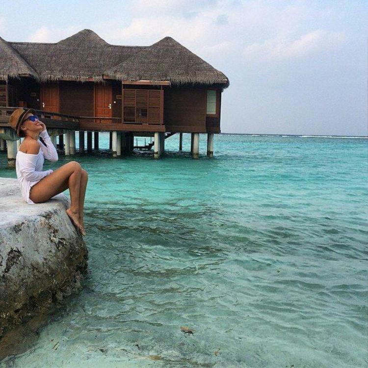 Check-in tại những thiên đường nghỉ dưỡng thế giới. Ảnh: The Sun